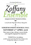 Zoffany Ensemble to return to Kirkbymoorside