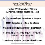 Friday Rehearsal Orchestra Concert Poster