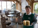 Mary Mynot - Ryedale Folk Museum Volunteer in cafe