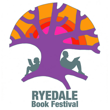 Ryedale Book Festival Logo with words