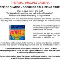 Kirkbymoorside Thermal Imaging Camera information poster