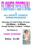 Kirkbymoorside Church Flower Festival Poster