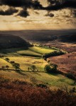 Hole of Horcum - Autumn Gold by John Clifton