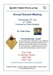 July meeting Ryedale Family History Group