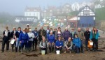Volunteers at Runswick Bay