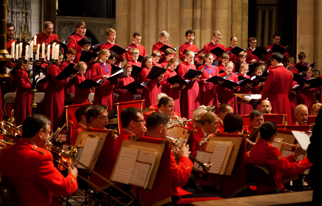 York Minster choir
