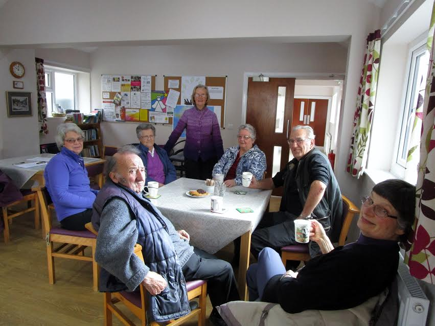 People meet at Oasis - Kirkbymoorside Chapel, every Tuesday morning